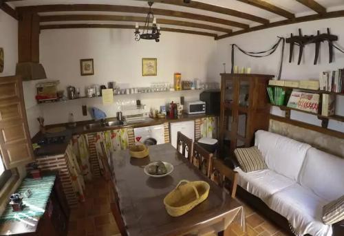 Casa rural cocina comedor