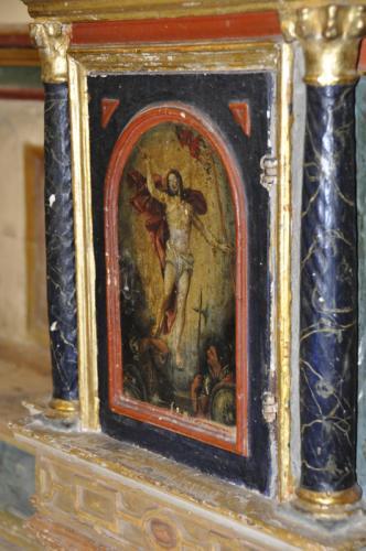 Pintura en la iglesia